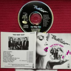 CDs de Música: OUTRIDER: NO WAY OUT; CD AOR 1990.CLARAS INFLUENCIAS TOTO.. Lote 186278761