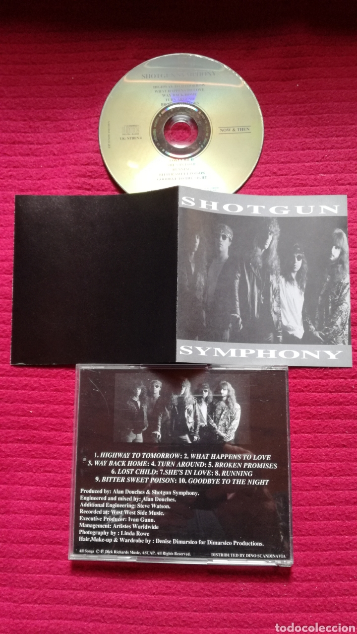 SHOTGUN SYMPHONY: S/T; CD AOR 1993. (Música - CD's Rock)