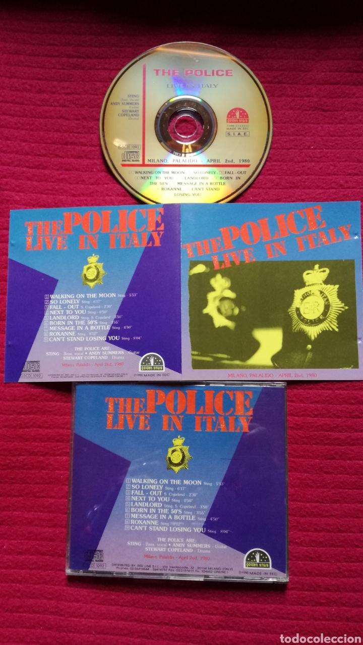 THE POLICE:CD LIVE IN ITALY; MILANO 1980. SOUNDBOARD RECORDING. MUY RARO. (Música - CD's Rock)