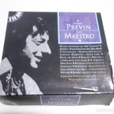 CDs de Música: 3 CD BOX. ANDRÉ PREVIN. THE MAESTRO. LONDON YMPHONY ORCHESTRA. CD1. CD2. CD3.. Lote 204485407