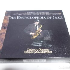 CDs de Música: 2 CD DELUXE EDITION. 20 PAGES BOOKLET WITH RARE PHOTOGRAPHS . THE ENCYCLOPEDIA OF JAZZ. NUEVO.. Lote 204485643