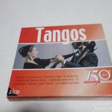 CDs de Música: 2 CD TANGOS. 50 TEMAS. 150 MINUTOS ORIGINAL MOMENTS.. Lote 204485736