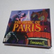 CDs de Música: 2 CD THE MUSIC OF PARIS. POUR L'AMOUR. MUSETTE FROM PARIS. NUEVO.. Lote 204485833