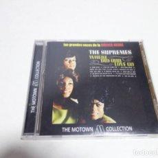 CDs de Música: CD THE SUPREMES . LAS GRANDES VOCES DE LA MÚSICA NEGRA. THE MOTOW COLLECTION.12 TEMAS NUEVO.. Lote 204486262