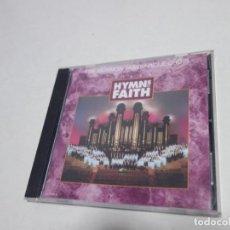 CDs de Música: CD THE MORMON TABERNACLE CHOIR HYMNS OF FAITH. NUEVO.. Lote 204486440