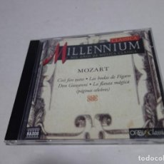CDs de Música: CD CLASSICA MILLENIUM . MIL AÑOS DE MÚSICA CLÁSICA. MOZART.. Lote 204486476