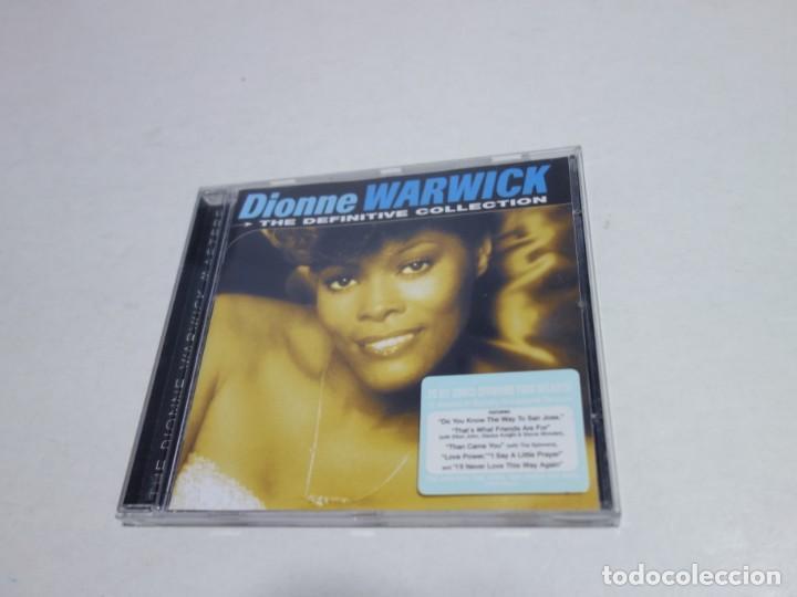 CD DIONNE WARWICK . 20 HITS. THE DEFINITIVE COLECTION. 20 TEMAS. NUEVO. (Música - CD's Otros Estilos)