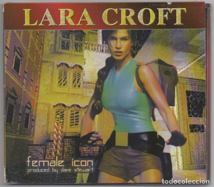 LARA CROFT - FEMALE ICON / DIGIPACK CD ALBUM DE 1999 / MUY BUEN ESTADO RF-5716 (Música - CD's Otros Estilos)