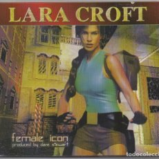CDs de Música: LARA CROFT - FEMALE ICON / DIGIPACK CD ALBUM DE 1999 / MUY BUEN ESTADO RF-5716. Lote 235335295