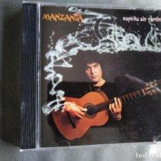 CDs de Musique: MANZANITA - ESPÍRITU SIN NOMBRE - CD. Lote 204523087