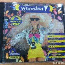 CDs de Música: CD VITAMINA T - VOL. 2. TECHNO, 1993 - RUTABAKALAO. Lote 97501291