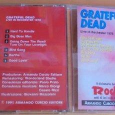CDs de Música: CD GRATEFUL DEAD LIVE ON ROCHESTER 1970 1991 ARMANDO CURCIO EDITORE IL DIZIONARIO DEL ROCK. Lote 204602716