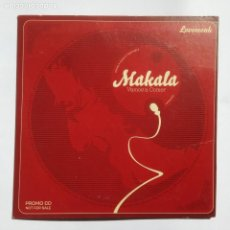 CDs de Música: MAKALA VAMOS A COMER - PROMO CD SINGLE - SLIM - 4 TRACKS - LOVEMONK - SKUNKFUNK. Lote 204603778