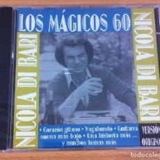 CDs de Música: CD LOS MÁGICOS 60 - NICOLA DI BARI EN ESPAÑOL - VERSIÓN ORIGINAL. MANDARIM (1997). NUEVO, PRECINTADO. Lote 139298950