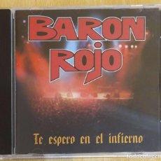 CDs de Música: BARON ROJO (TE ESPERO EN EL INFIERNO) CD 1998 - AC DC. Lote 204614550