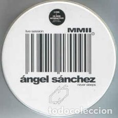 CDs de Música: ÁNGEL SÁNCHEZ - NEVER SLEEPS - CAJA METÁLICA. Lote 204618706