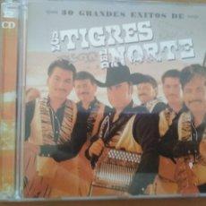 CDs de Música: LOS TIGRES DEL NORTE 30 GRANDES EXITOS DE 2CDS LIBRETO. Lote 204689072