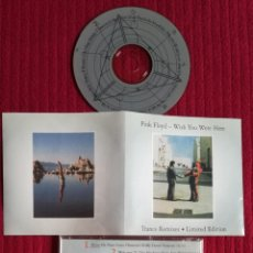 CDs de Música: PINK FLOYD: WISH YOU WERE HERE/ TRANCE REMIXES, LIMITED EDITION. MUY RARO.. Lote 204695791