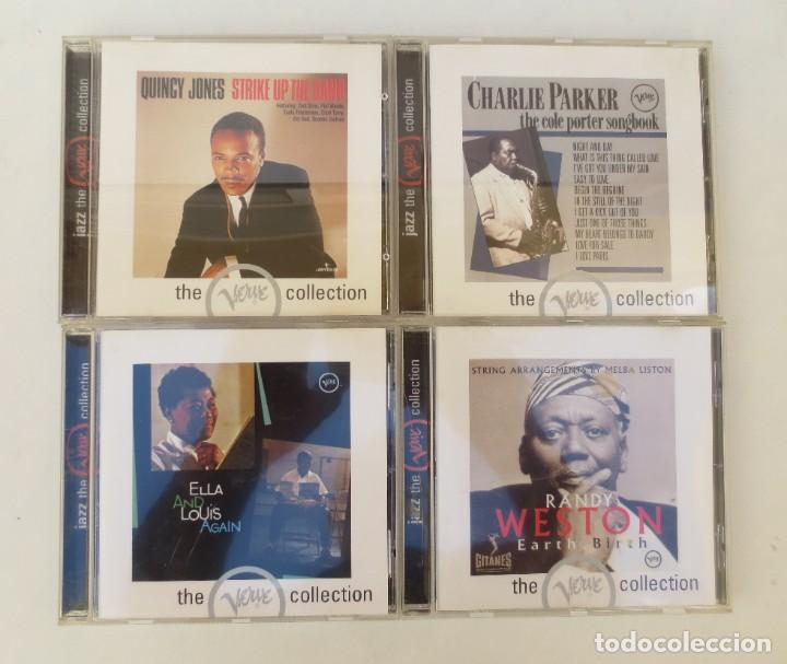 4 CDS - JAZZ THE VERVE COLLECTION (Música - CD's Jazz, Blues, Soul y Gospel)