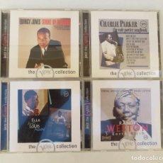 CDs de Música: 4 CDS - JAZZ THE VERVE COLLECTION. Lote 204703222