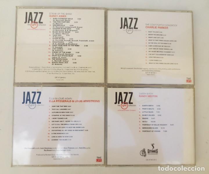 CDs de Música: 4 CDs - JAZZ THE VERVE COLLECTION - Foto 2 - 204703222