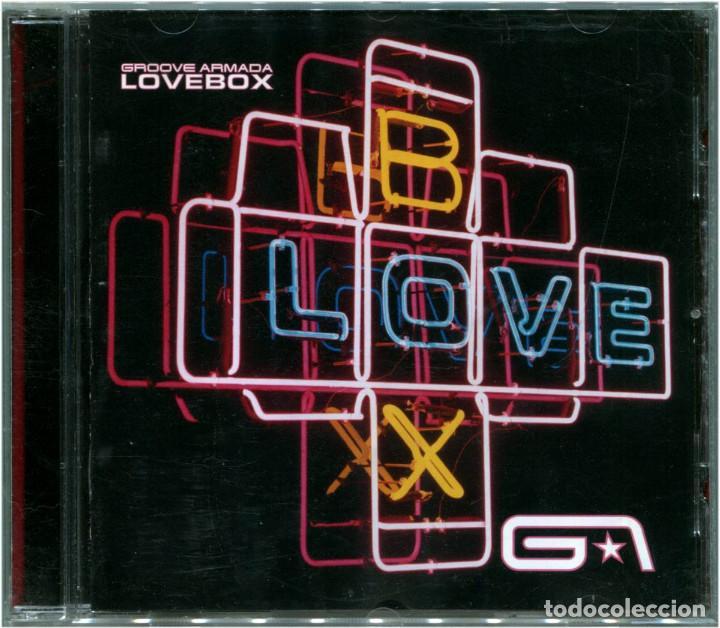 GROOVE ARMADA – LOVEBOX - CD EUROPE 2002 - JIVE ELECTRO / VIRGIN 724358049022 (Música - CD's Techno)