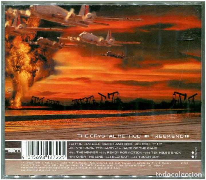 CDs de Música: The Crystal Method ‎– Tweekend - CD UK 2002 - Tiny E Music ‎TCM12722 - Foto 2 - 204705975