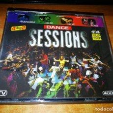CDs de Música: DANCE SESSIONS - 4 CD 1997 DJ GEORGE DJ SAMMY NALIN RED 5 SPEED LIMIT HECTOR SERAL 31 TEMAS. Lote 204706760