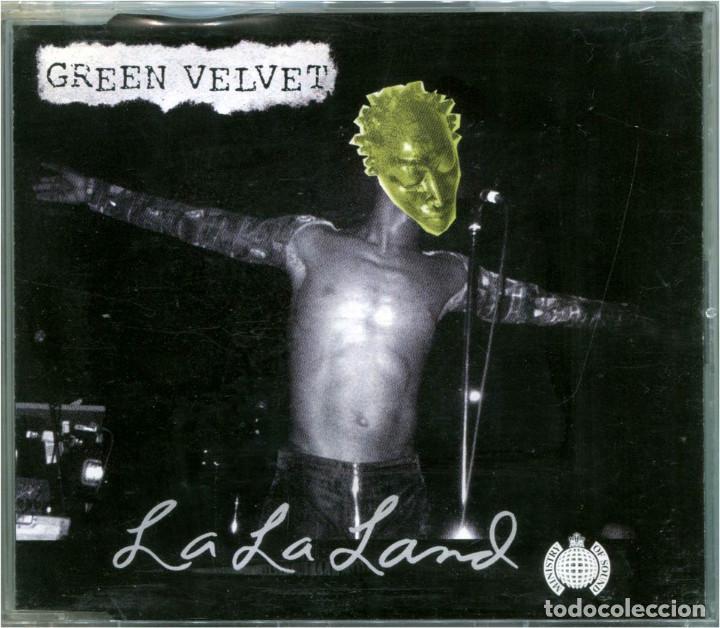 GREEN VELVET – LA LA LAND - CD MAXI-SINGLE SWEDEN 2002 - FOUNDATION 334 40352 (Música - CD's Techno)