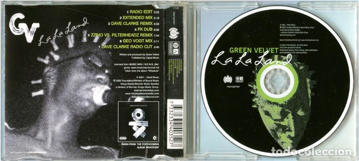 CDs de Música: Green Velvet – La La Land - CD Maxi-Single Sweden 2002 - Foundation 334 40352 - Foto 2 - 204714303