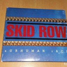 CDs de Música: CD SKID ROW SUBHUMAN RACE ATLANTIC 1995 USA DIGIPAK. Lote 204722022