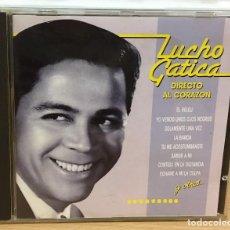 CDs de Música: CD DE LUCHO GATICA - DIRECTO AL CORAZÓN. EMI - ODEÓN, 1987. Lote 51029999