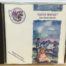 CDs de Música: CD LOVE WAVES, POR JEAN CLAUDE BORRELLY. BMG, 1988. Lote 51052926