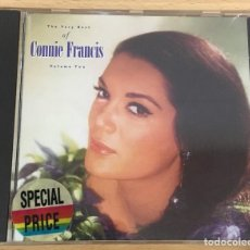 CDs de Música: CD THE VERY BEST OF CONNIE FRANCIS - VOLÚMEN 2. POLYGRAM, 1987. Lote 51053274