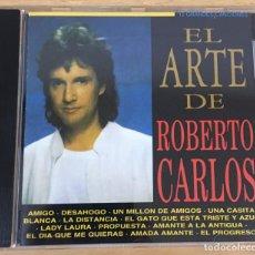 CDs de Música: CD EL ARTE DE ROBERTO CARLOS. SONY, 1994. Lote 51053462