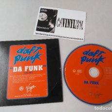 CDs de Musique: DAFT PUNK - DA FUNK (CD-SINGLE, PROMO) VIRGIN VISA 3868. Lote 204734862