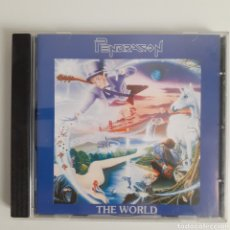 CDs de Música: PENDRAGON. THE WORLD. UK 1991. VALORACIÓN VISUAL CARPETA VG+. CD VG+.. Lote 204771967