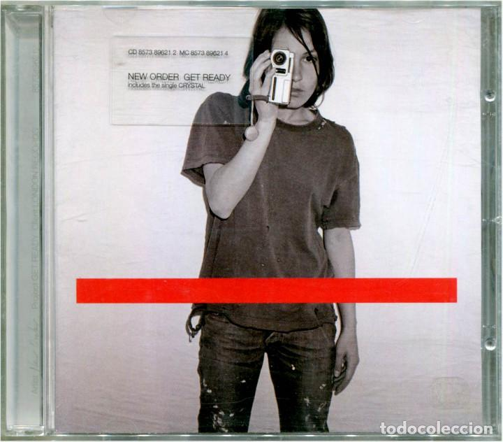 NEW ORDER – GET READY - CD EU & UK 2001 - LONDON RECORDS 8573896212 (Música - CD's Techno)