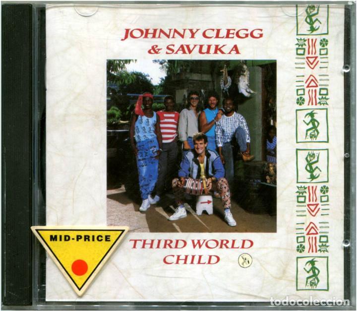 JOHNNY CLEGG & SAVUKA – THIRD WORLD CHILD - CD HOLLAND 1987 - EMI CDP 7467782 (Música - CD's World Music)
