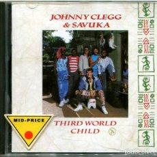 CDs de Música: JOHNNY CLEGG & SAVUKA – THIRD WORLD CHILD - CD HOLLAND 1987 - EMI CDP 7467782. Lote 204826382
