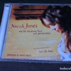 CDs de Música: CD + DVD - NORAH JONES WITH THE HANDSOME BAND - FEELS LIKE HOME - DELUXE EDITION EDICIÓN CHINA 2004. Lote 204845392