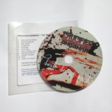 CDs de Música: CRUCIFIED BARBARA - TIL DEATH DO US PARTY 2009 - CD PROMO - GMR MUSIC GROUP. Lote 204845485