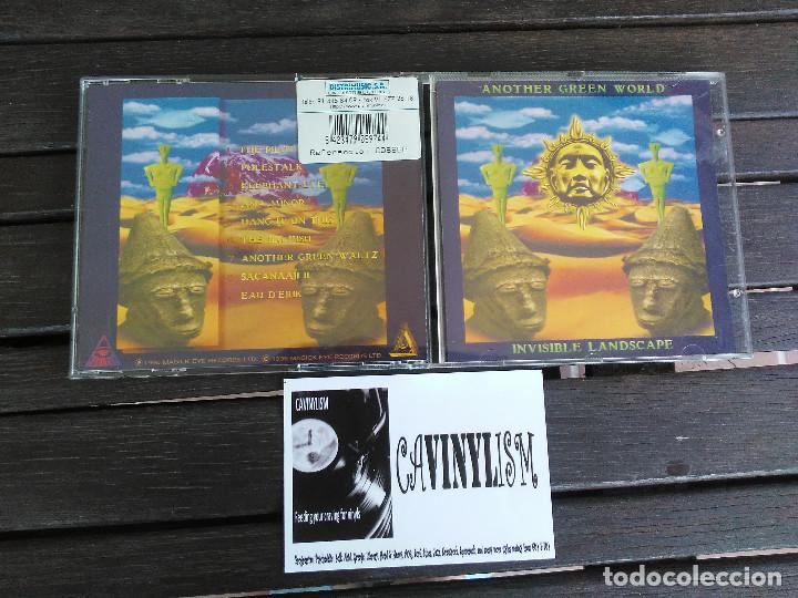 ANOTHER GREEN WORLD - INVISIBLE LANDSCAPE (CD-ALBUM) MAGICK EYE RECORDS MEY CD 16 (Música - CD's Rock)