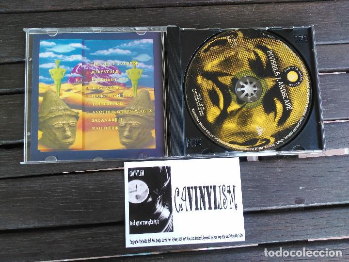 CDs de Música: Another Green World - Invisible Landscape (CD-Album) Magick Eye Records MEY CD 16 - Foto 2 - 204848458