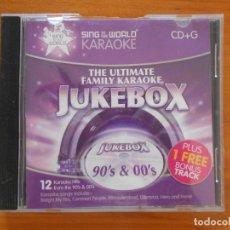 CDs de Música: SING TO THE WORLD KARAOKE - 90'S & 00'S - LEER DESCRIPCION (GN). Lote 205004960