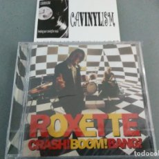 CDs de Música: ROXETTE - CRASH! BOOM! BANG! (CD-ALBUM) EMI 7243 8 28727 2 6 PRECINTADO - NUEVO. Lote 205081081
