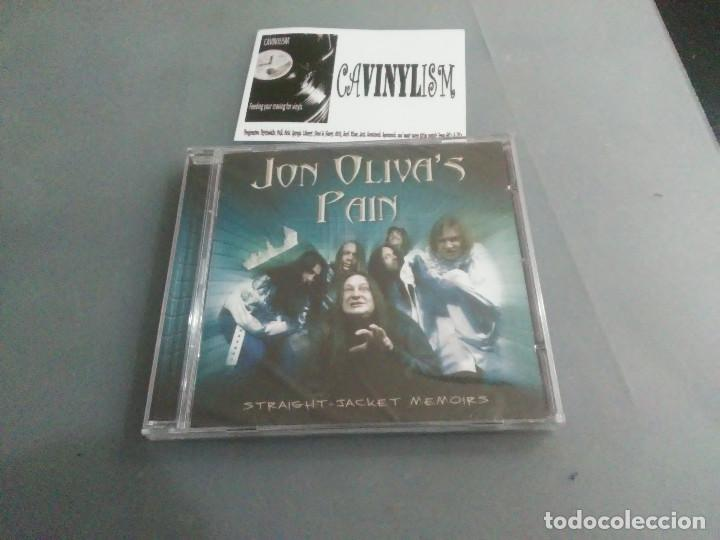 JON OLIVA'S PAIN - STRAIGHT-JACKET MEMOIRS (CD) AFM RECORDS AFM 129-5 PRECINTADO - NUEVO (Música - CD's Rock)
