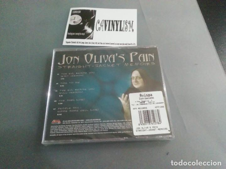CDs de Música: Jon Olivas Pain - Straight-Jacket Memoirs (CD) AFM Records AFM 129-5 PRECINTADO - NUEVO - Foto 2 - 205119890