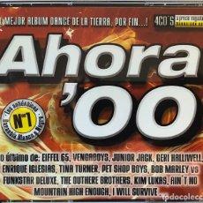 CDs de Música: AHORA 00, CD CON LOS N.1 HOUSE, POP DANCE, HITS, RADIO Y TV ETC. Lote 205126528