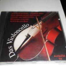 CDs de Música: DAS VIOLONCELLO. SELLECCIÓN. AUSLESE 94. ANDROMACO. Lote 205135208